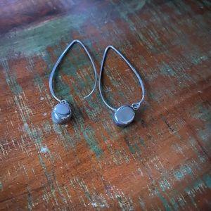 Silpada Sterling Silver Thread Bead Ball Earrings